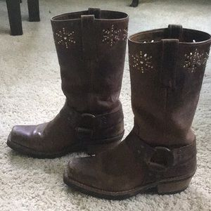 Authentic Vintage Frye Boots
